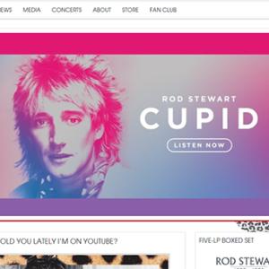 ロッド・スチュワートが歌うアメリカのポップ・スタンダード集を披露宴のBGMに。