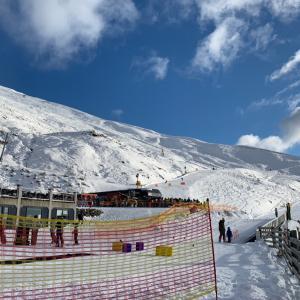 【なう】ニュージーランドスキー場② トレブルコーン