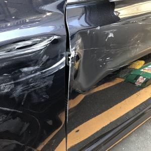 交通事故に遭いました!任意保険代は二倍×三年間の刑(涙)