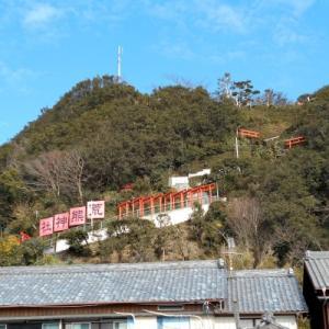 知多半島、荒熊神社と岩屋寺、初詣サイクリング