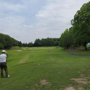 飛び入り参加のゴルフでした^^