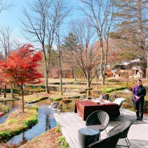 「星のや 軽井沢」さんが魅せてくれた、自然が秘めるチカラ。