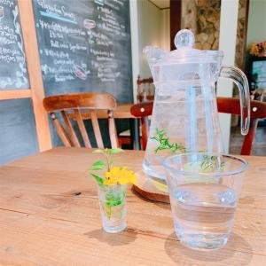 無農薬と発酵食品にこだわる、お洒落な一軒家カフェ。