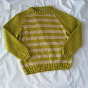 子ども用しましまセーター