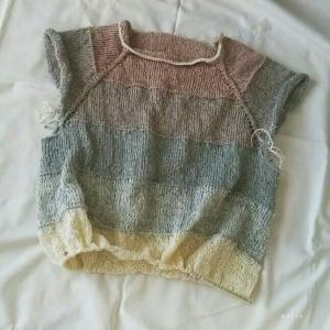 セナペのワイドシルエットセーター 2