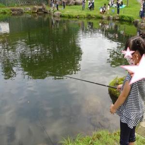 4連休2日目 初めての釣り体験