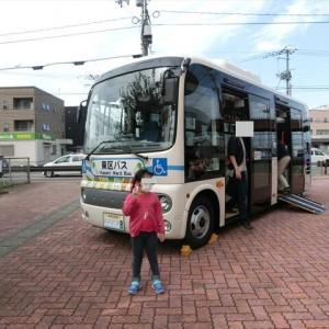 区バスの試乗会