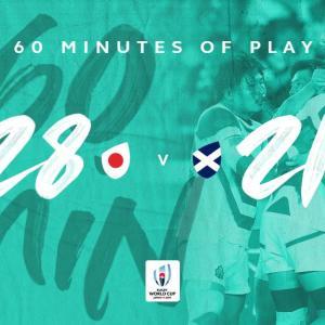 おめでとう!ラグビー日本代表念願のベスト8進出決定!