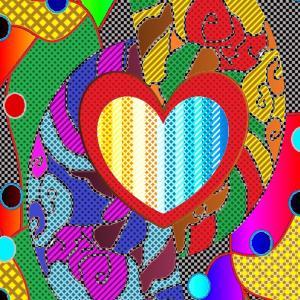 7月頃のイラスト作品『何色の心』