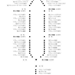 日本二十六聖殉教者のロザリオの祈り
