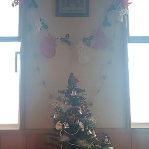 やっとクリスマスツリー