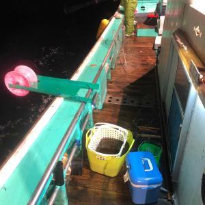 ナイトジギング&イカ釣り