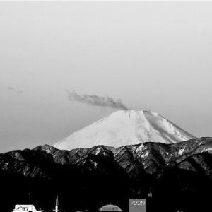 👼🐉噴煙あがる??【富士山】雄姿❢❢(後編)