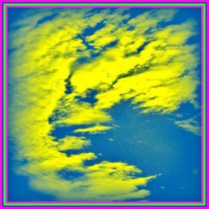 👼🐉神々しい『彩雲』に【⚡龍神様⚡】出現❢❢
