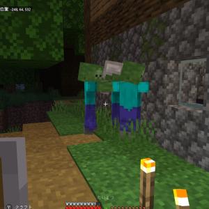 【マイクラ】新しい村を発見! 村人を守ろう!