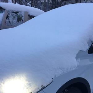 雪積もるアンヌプリ