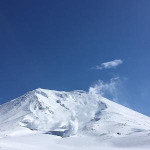 最高の春の旭岳