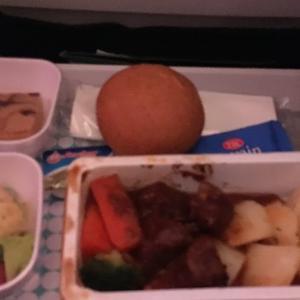ニュージーランド航空のお食事