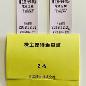 東武鉄道から株主優待到着!乗車証のほか13種類!実態は鉄道会社ではなく・・・