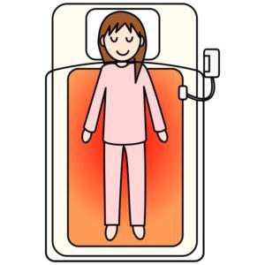 寝たきりの人に電気毛布はNG?寒さ対策には「こたつ保温カバー」がおススメ!