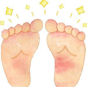 寝たきりで足裏やかかとがガサガサになったら?「泡足浴」がおススメです。