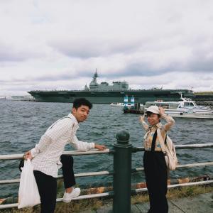 昨日の休日 横浜観光