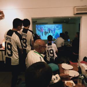 永田羽竜選手、報告会