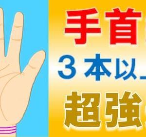 占い館セレーネYouTubeチャンネルで水森太陽先生による手首線の手相動画が公開!