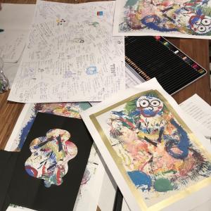 京都の絵本作りワークショップ 3