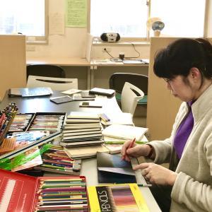 2020年度 1000色の色鉛筆のワークショップ