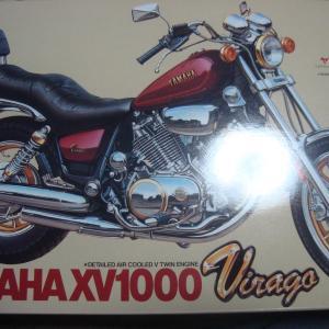 タミヤ 1/12 YAMAHA XV 1000 Virago 改 XV1100 仕様w その1