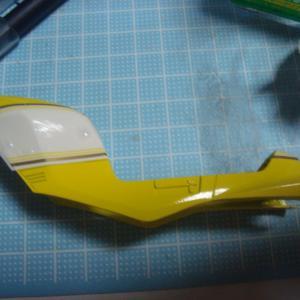 アオシマ 1/12 SUZUKI RG250Γ(ガンマ) Ⅱ型 HB(ハーベーカラー) その3