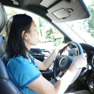 灰ちゃんを初めて運転してみた。(My first drive with Hai-chan)