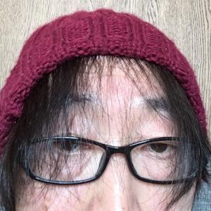 ニット帽画像