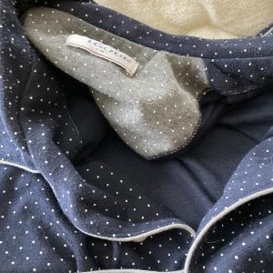 パジャマのボタン