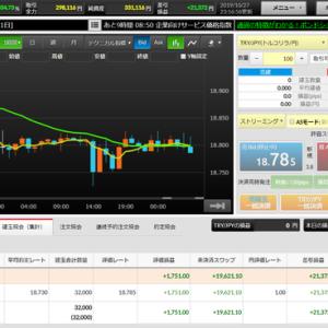 FXの状況:高金利通貨で月1万円を目標に(10/20~10/26)