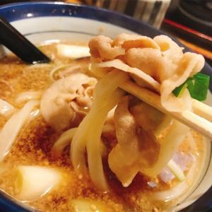 肉つけ麺を豪快にすするべしっ。北摂エリアの大好きなうどん屋さん♫ 兵庫 川西「讃々(さんさん)」