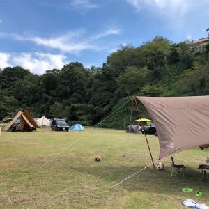 島根県 奥出雲にある「きすき健康の森オートキャンプ場」。フリーサイトでのんびりキャンプ