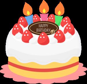 【子供3歳の誕生日】ケーキ編