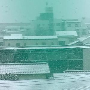雪景色&引きこもり生活