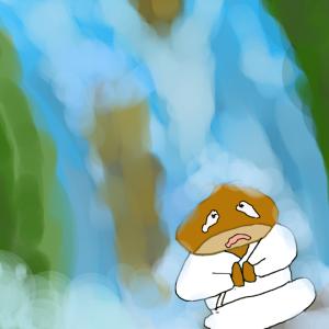 水槽にある滝の動画をひたすら眺める ついでにオトシンクルス仲間入り
