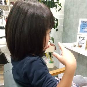 ヘアドネーション59人目✨小学生姉妹でドネーション♡