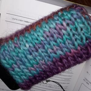食用色素で毛糸を手染めしたら、思ったよりあっさり染まった(2)