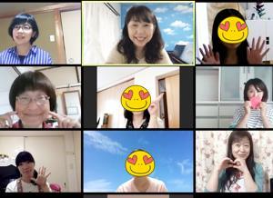 ZOOMでリトミック講座 北海道や九州からも