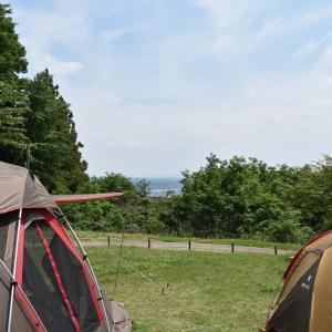 くりの木キャンプ場 ~ソロで行ったキャンプ場にファミで再訪シリーズ第1弾 【2019年6月1日~2日】