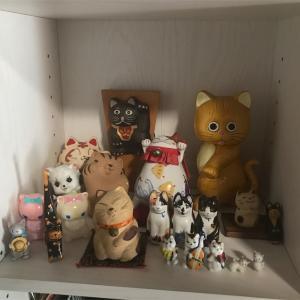 猫グッズのコーナー作りました