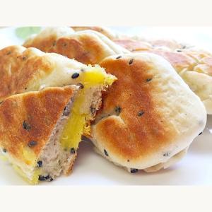 秋の季節がうれしいさつまいもが登場!「フライパンで作れるさつまいもパン」をご紹介♪