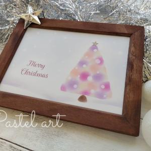 11/20(金)クリスマスをおしゃれに!指で描くツリーのパステルアート&クリスマスパンコラボ