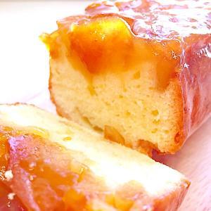 パサパサしないしっとり!おもてなしにも♪「りんごのキャラメリゼパウンドケーキ」