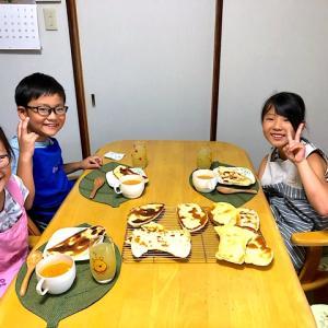 【キッズパン教室開催報告】夏休みに!子どもたちの美味しい笑顔♪フライパンで作れるナンカレーランチ